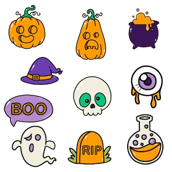 Halloween clipart, arte gráfica