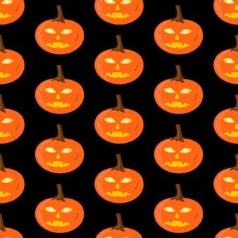 Halloween padrão, abóbora laranja perfeita