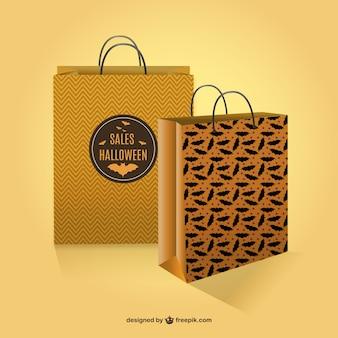 Halloween sacos de compras vendas