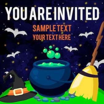 Halloween você está convidado