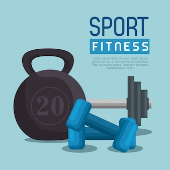 Halteres de levantamento de peso esporte fitness