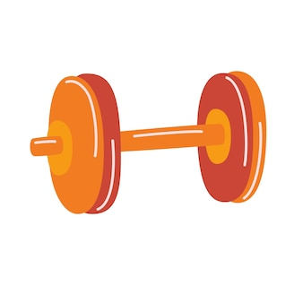 Halteres para fitness. conceito de efeito de respingo de negócios de esporte de musculação. equipamento de ginástica.