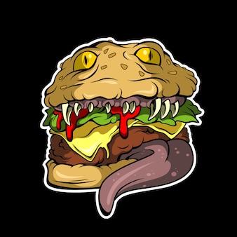 Hambúrguer mortal
