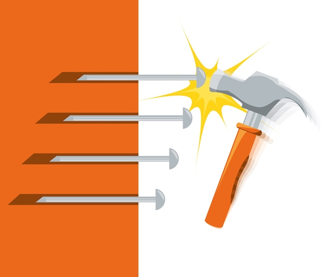 Hammet ferramenta para reparar o serviço