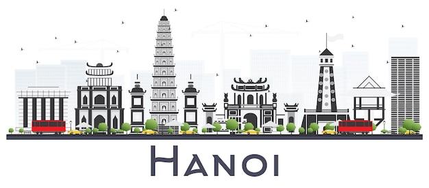 Hanoi vietnam city skyline