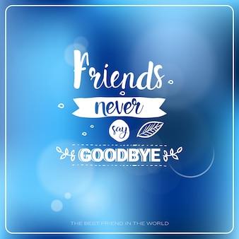 Happy friendship day logo greeting card banner de férias de amigos