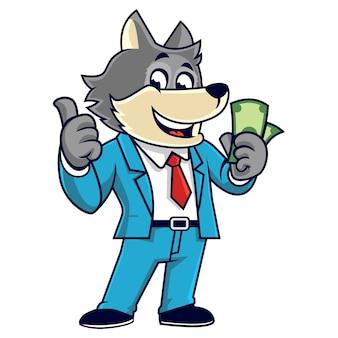 Happy wolf cash