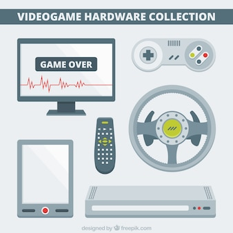 Hardware plana para jogos de vídeo