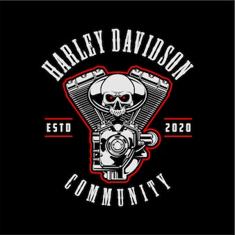 Harley davidson comunitário