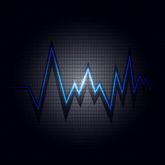 Heart beats background