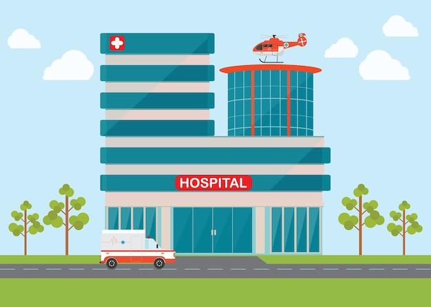 Helicóptero e ambulância do interruptor inversor da emergência médica.