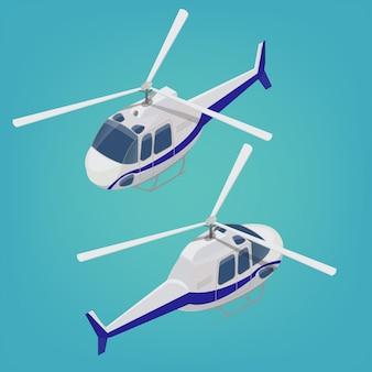 Helicóptero isométrico