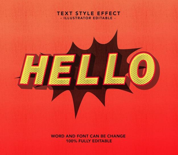 Hello font