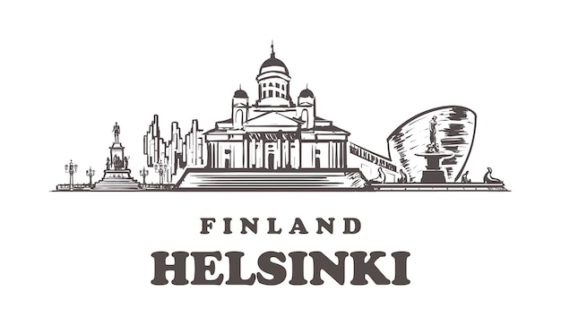 Helsinki sketch city, finlândia
