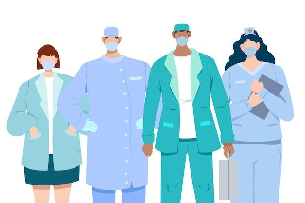 Heróis do sistema médico