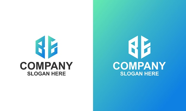 Hexagon corporate logo premium