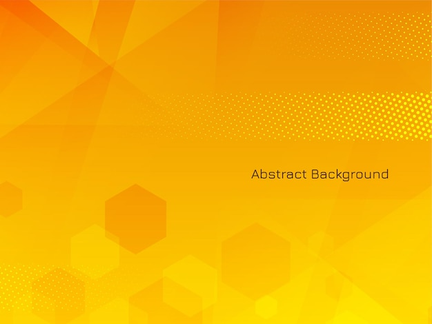 Hexagonal geométrico elegante abstrato