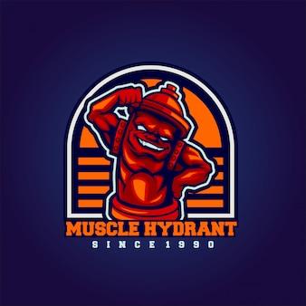 Hidrante muscular