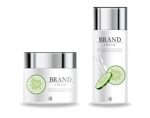 Hidratante de creme hidratante de pepino