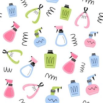 Higiene. padrão sem emenda de vetor