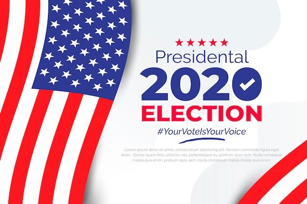 História da eleição presidencial dos eua em 2020