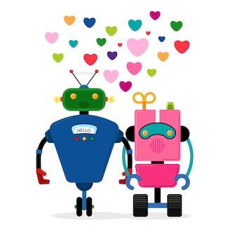 História de amor do robô