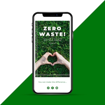 História de ecologia zero resíduos