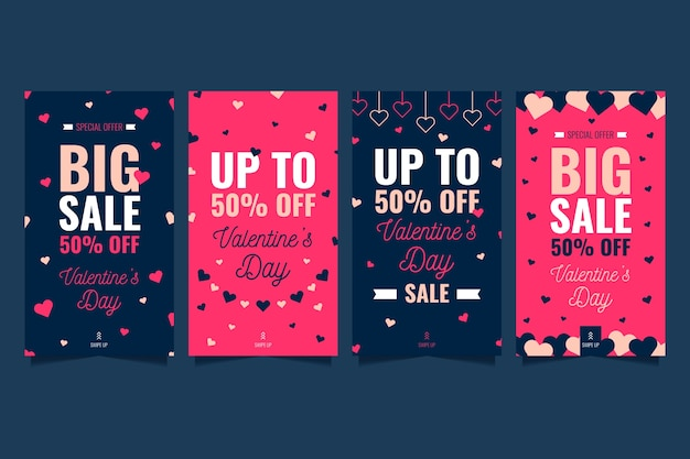 História de venda dia dos namorados conjunto