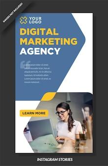 História do instagram da agência de marketing digital