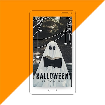 História do instagram do halloween