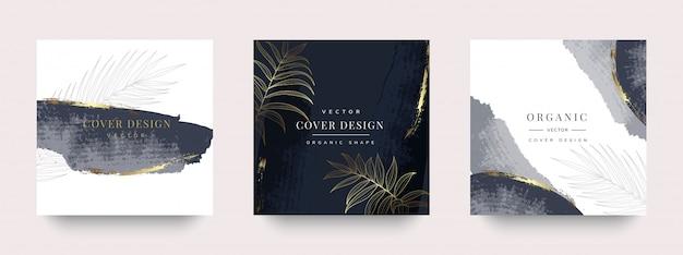 História social de luxo e design da capa