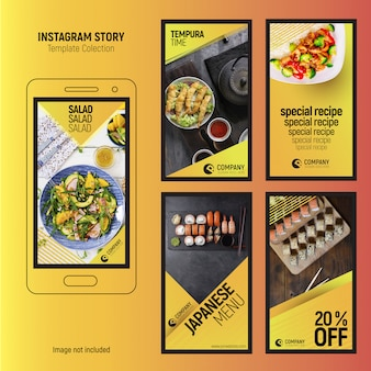 Histórias criativas do instagram