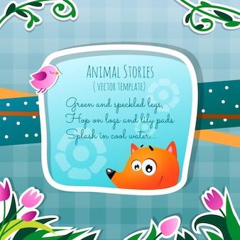 Histórias de animais, a raposa