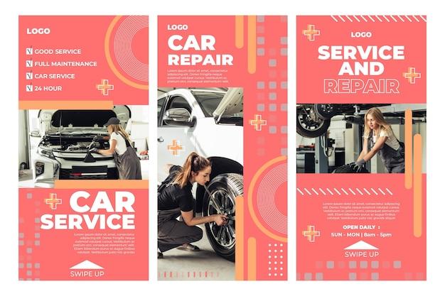 Histórias de mecânicos de automóveis