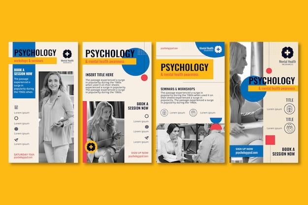 Histórias de psicologia do instagram