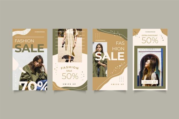Histórias do instagram de venda orgânica