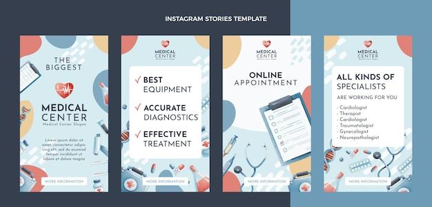 Histórias médicas desenhadas à mão no instagram