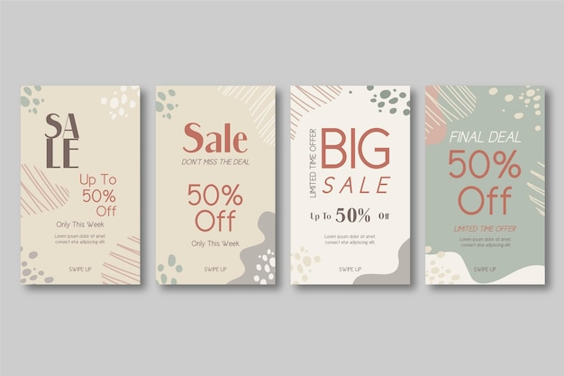 Histórias orgânicas do instagram grandes vendas