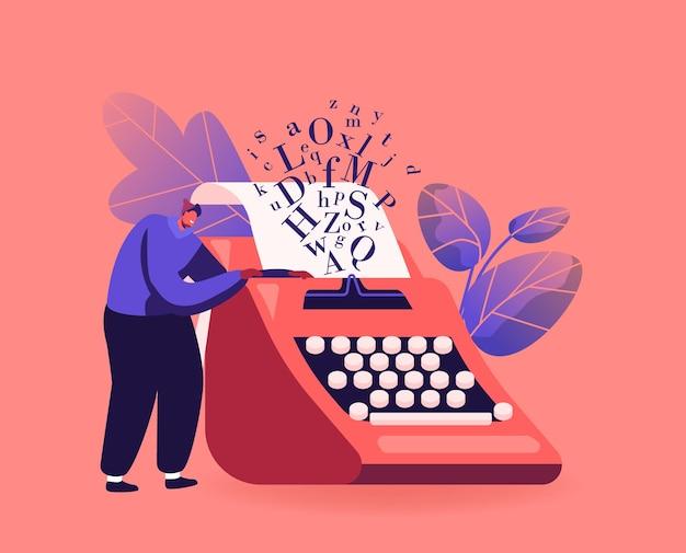 Hobby de narração, conceito de criatividade