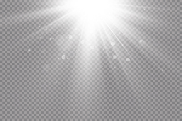 Holofote. efeito de luz.