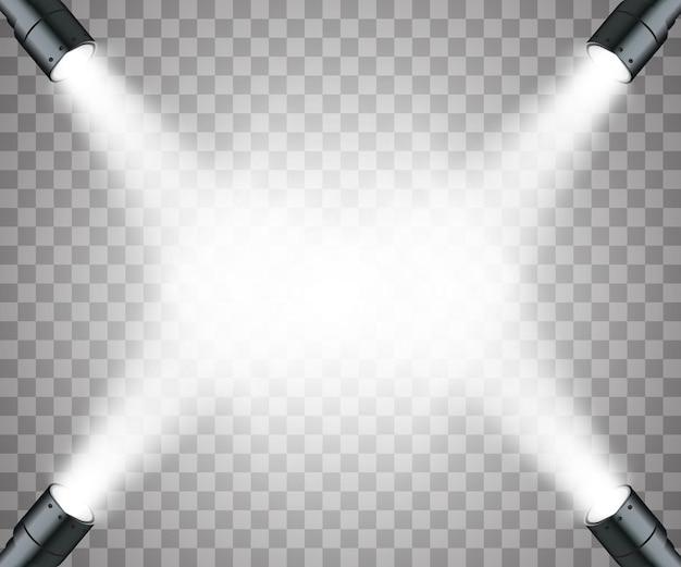 Holofotes de efeitos de luz