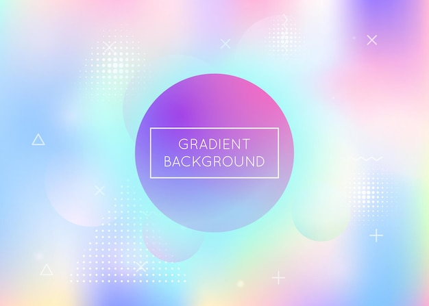 Holográfico dinâmico com elementos gradiente de memphis.