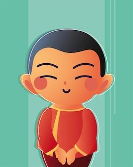 Homem asiático sorrindo