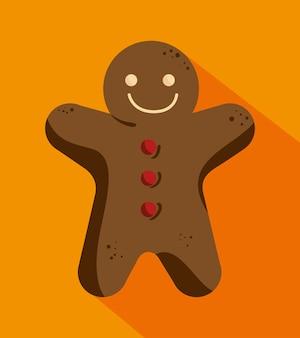 Homem biscoito de gengibre