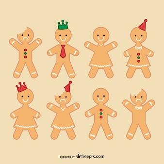 Homem coleção gingerbread