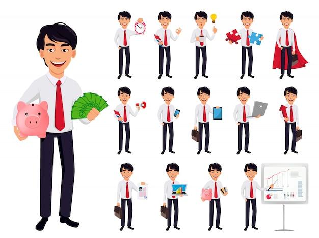 Homem de negócios asiáticos