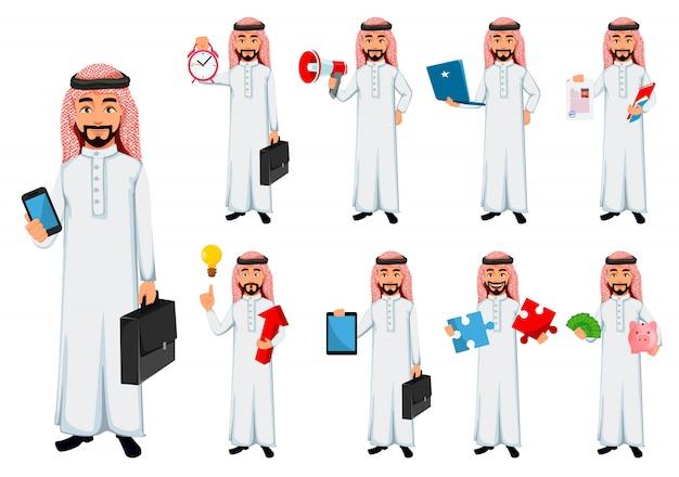 Homem de negócios moderno árabe