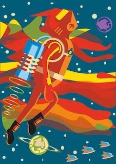 Homem do espaço a