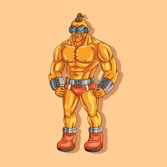 Homem dourado
