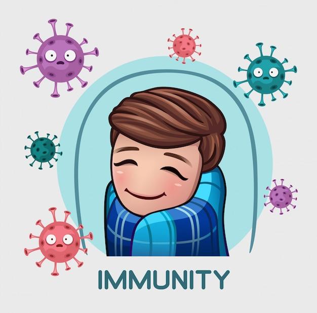 Homens em defesa da imunidade